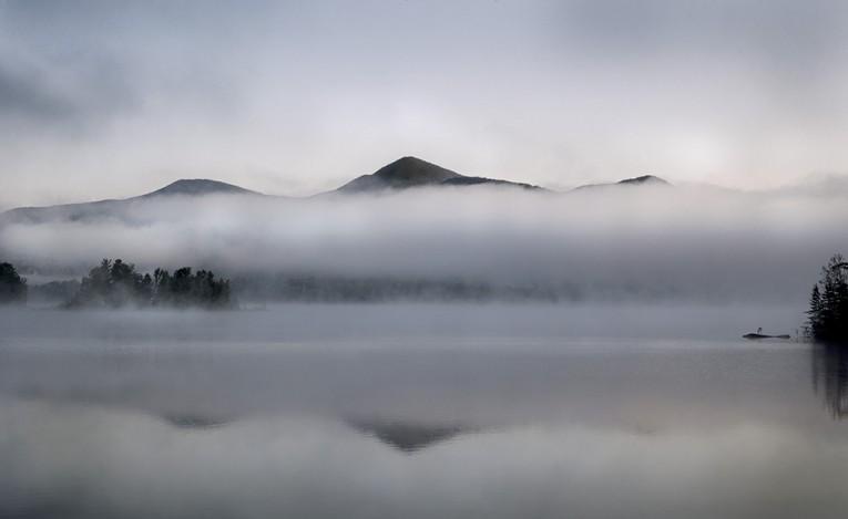Chittenden Reservoir_Dawn_Fog