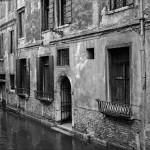 House on a Canal. Venice, Italy