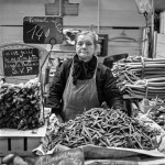 Market Woman. Paris, France