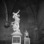 Rape of the Sabines. Giambologna, Palazzo Vecchio, Florence, Italy