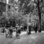 Sister and Children. Paris, France