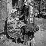 Woman Caning. Paris, France